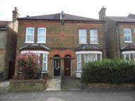 Terraced house in Coleridge Road...