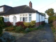 Semi-Detached Bungalow in Gorse Road, Norwich