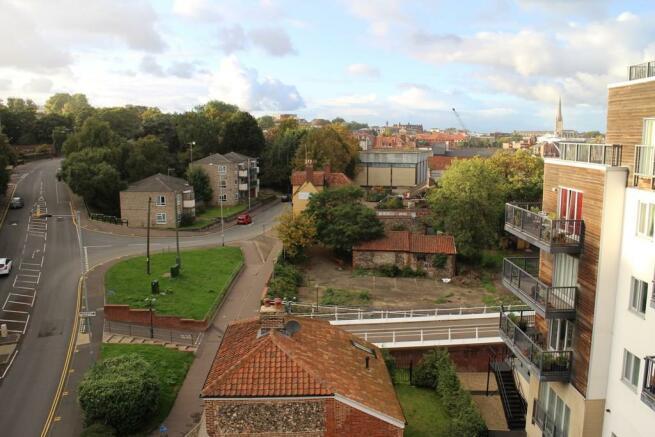 Balcony view towa...