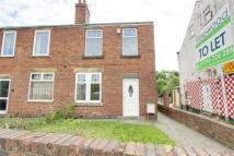 3 bed semi detached property in Derby Road, Chesterfield...