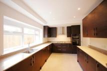 semi detached house in Belsize Road West...