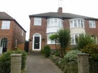 semi detached property for sale in Wheatley Lane, Winshill...