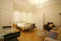 Studio apartment in Wadham Gardens...