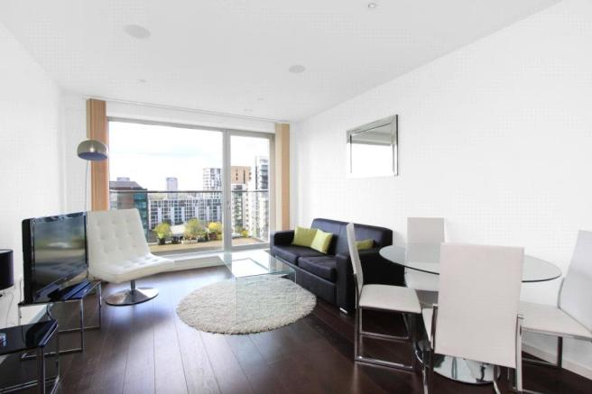 1 bedroom apartment to rent in baltimore wharf london