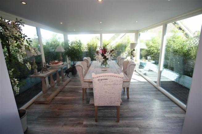 Glass Dining Room