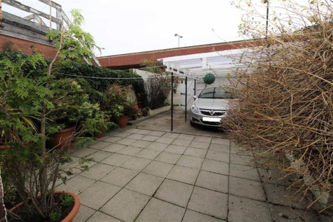 Rear Yard with Car Port