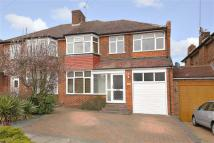 4 bedroom semi detached property for sale in Lowther Drive, Enfield...