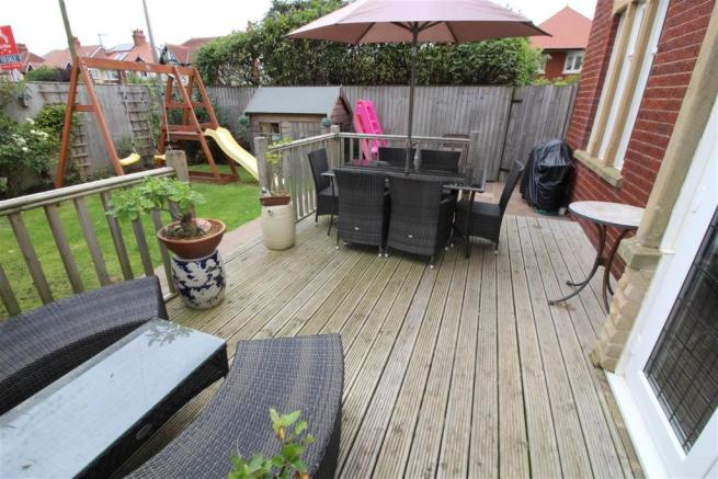 Decked BBQ Area