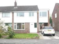 4 bed semi detached property in Waverley Drive...