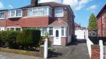 3 bedroom semi detached home in Riva Road, Didsbury...