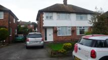 semi detached house in ALDERDALE ROAD, Cheadle...