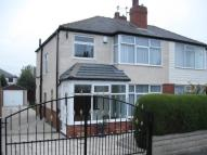 semi detached house in Gipton Wood Avenue...