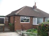 Semi-Detached Bungalow to rent in Knightsway, Garforth...