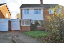 3 bedroom semi detached home in Wallshead Way...