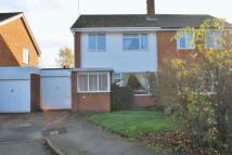 semi detached home in Wallshead Way...