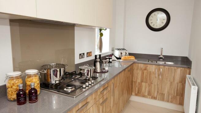 Typical Avant kitchen