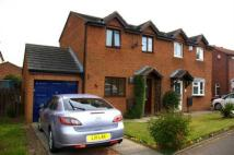 2 bed semi detached home in Longfellow Road...