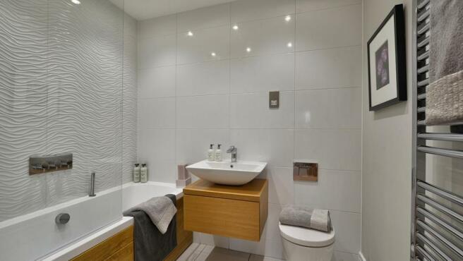 Typical Avant bathroom