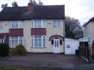 3 bedroom semi detached home in Tennal Lane, Harborne...