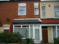Terraced home in Anderson Road...