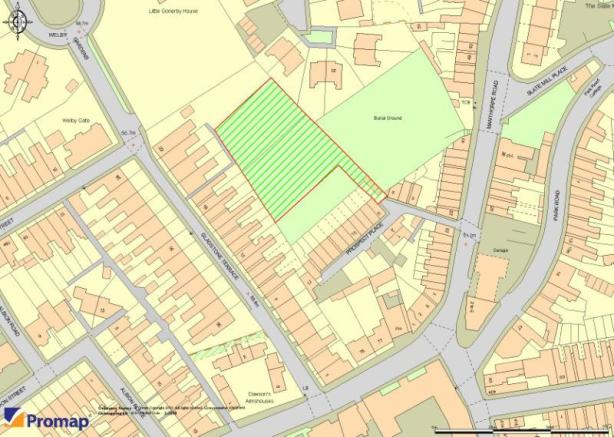 Plot for sale in gladstone terrace grantham lincolnshire for Terrace view map
