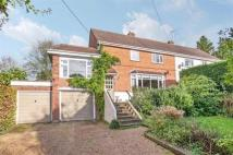 semi detached home in Grove Road, Shawford...