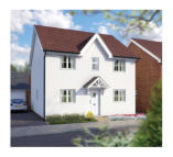 4 bedroom new home in East Hall Lane...