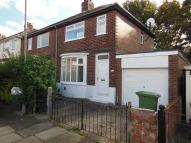 semi detached house in Swinburn Road, Norton...