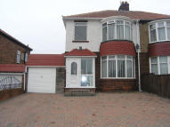 semi detached home to rent in Hart Lane, Hartlepool...
