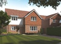 new home in Orchard Road, Burpham...