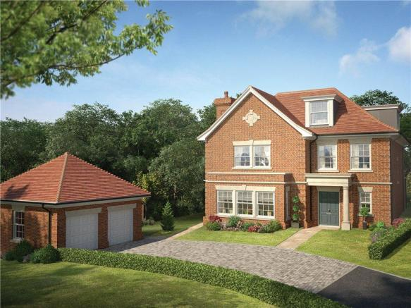 5 Bedroom Detached House For Sale In Knowle Hill Park