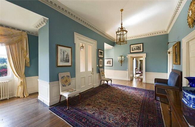 Georgian House- Hall