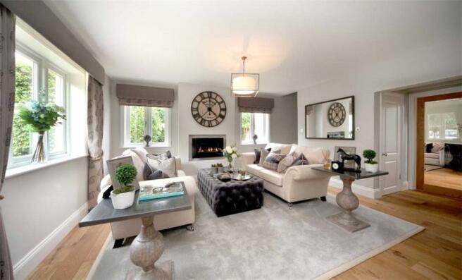 Ascot: Living Room