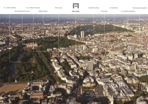 St Jamess:  Aerial