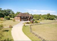 Detached property in Locks Lane, Sparsholt...