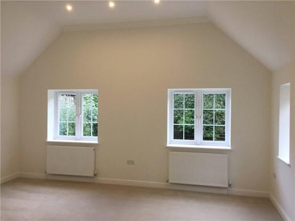 Vaulted Bedroom