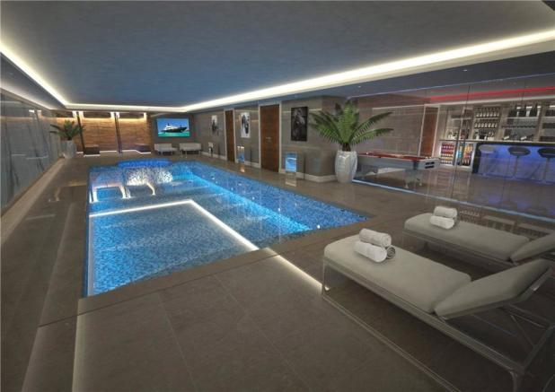 Luxury Pool & Spa