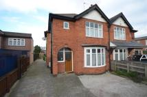 3 bedroom semi detached home in Ratcliffe Road, Sileby