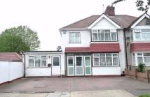 4 bed semi detached property in Legrace Avenue, HOUNSLOW...