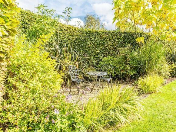Garden seating...