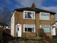 2 bedroom semi detached home for sale in Moray Drive, Clarkston...