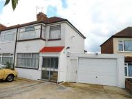 semi detached property for sale in Dell Road, Enfield...