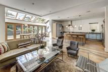 semi detached property in Lawn Road, Belsize Park...