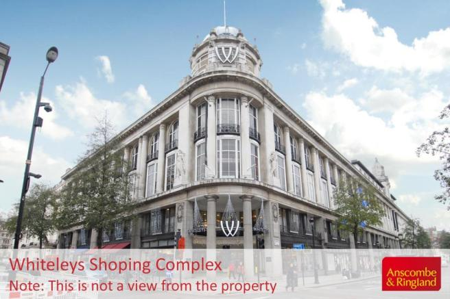 Local Area Shot: Whiteleys Shopping Complex