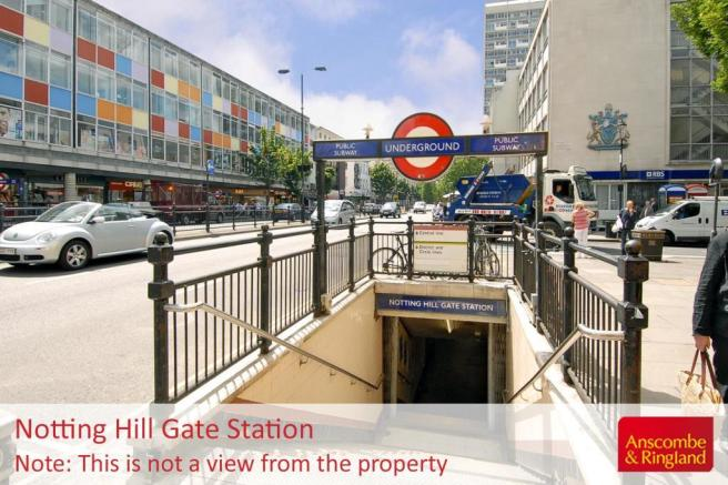 Area: Notting Hill Gate Tube