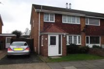semi detached house in Severn Way, Bletchley MK3