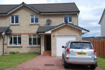 3 bedroom semi detached property to rent in Forres Place, Inverkip...