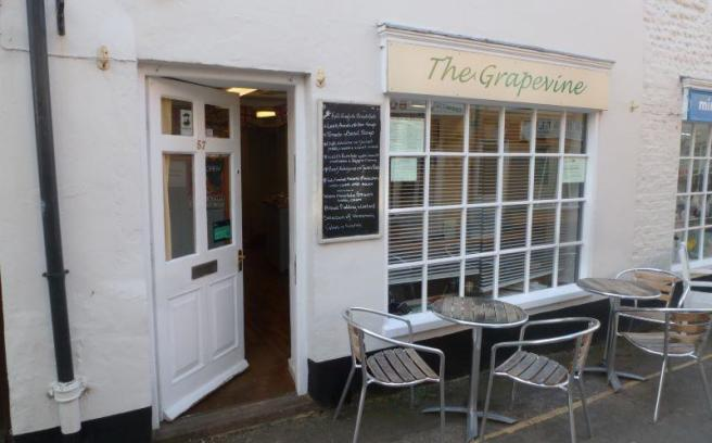 Commercial Property For Sale In The Grape Vine Cafe