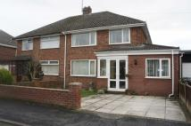 4 bed semi detached house in Taunton Drive...