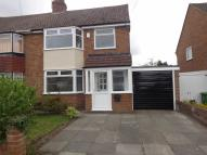 semi detached home to rent in Crawford Ave, Maghull